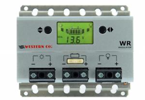 Regolatore Di Carica Pwm 30A WR30 12-24V Western co Digitale Fotovoltaico Isola