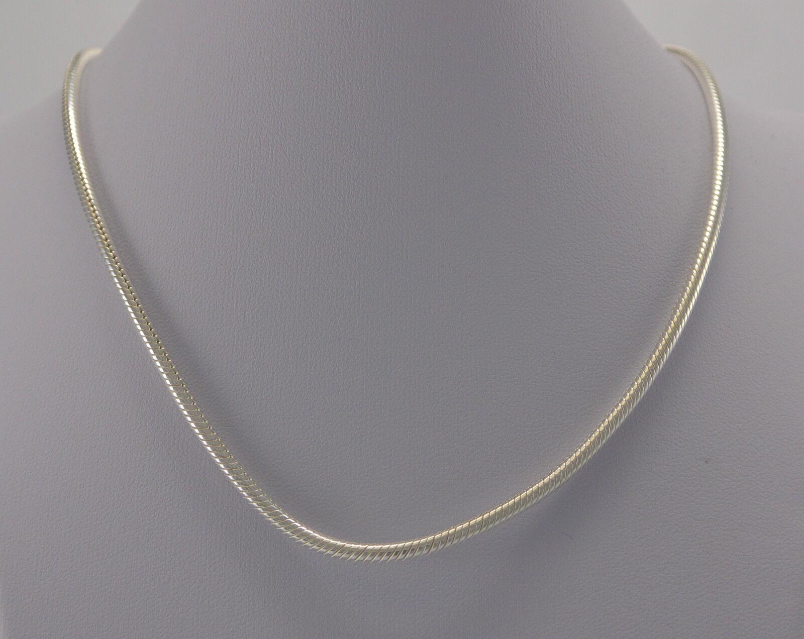 L&P Schlangenkette - 925er silver   42 cm