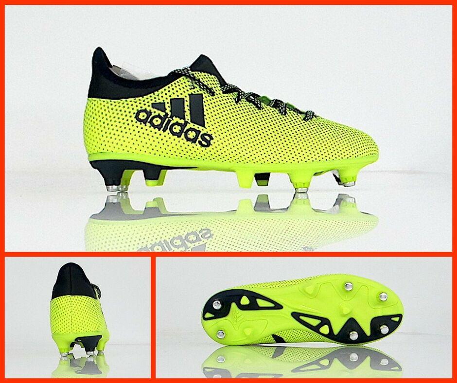 Adidas botas Fútbol Bebé X 17.3 Sg J S82387 Col. Amarillo Fluo  Negro Agosto