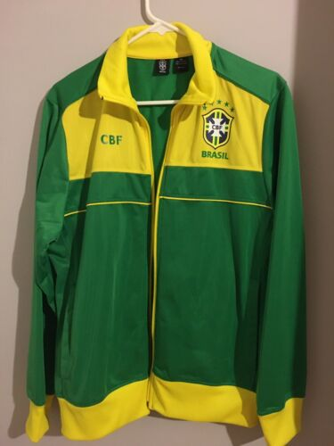 Women Brazilian Soccer Jacket Brasil Soccer Team J