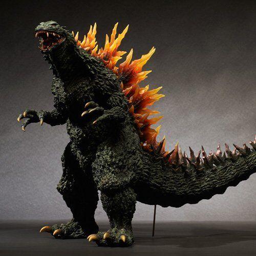 Nuevo Gigante Serie Godzilla 1999 Figura Dorsal Fin Emisión Imagen Versión Japón