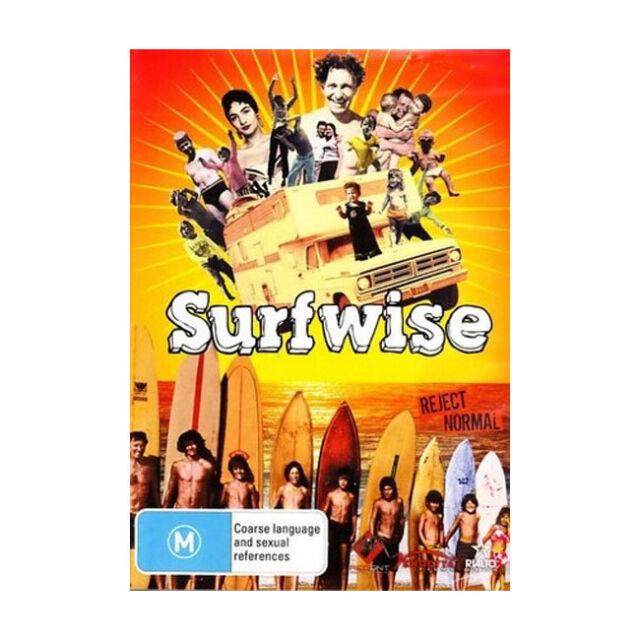 Surfwise DVD Like New Aus Region 4 - Dorian Doc Paskowitz