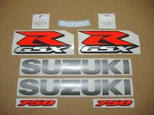 GSXR 750 2011 2012 decals stickers graphics adhesives kit set autocollants l1 l2
