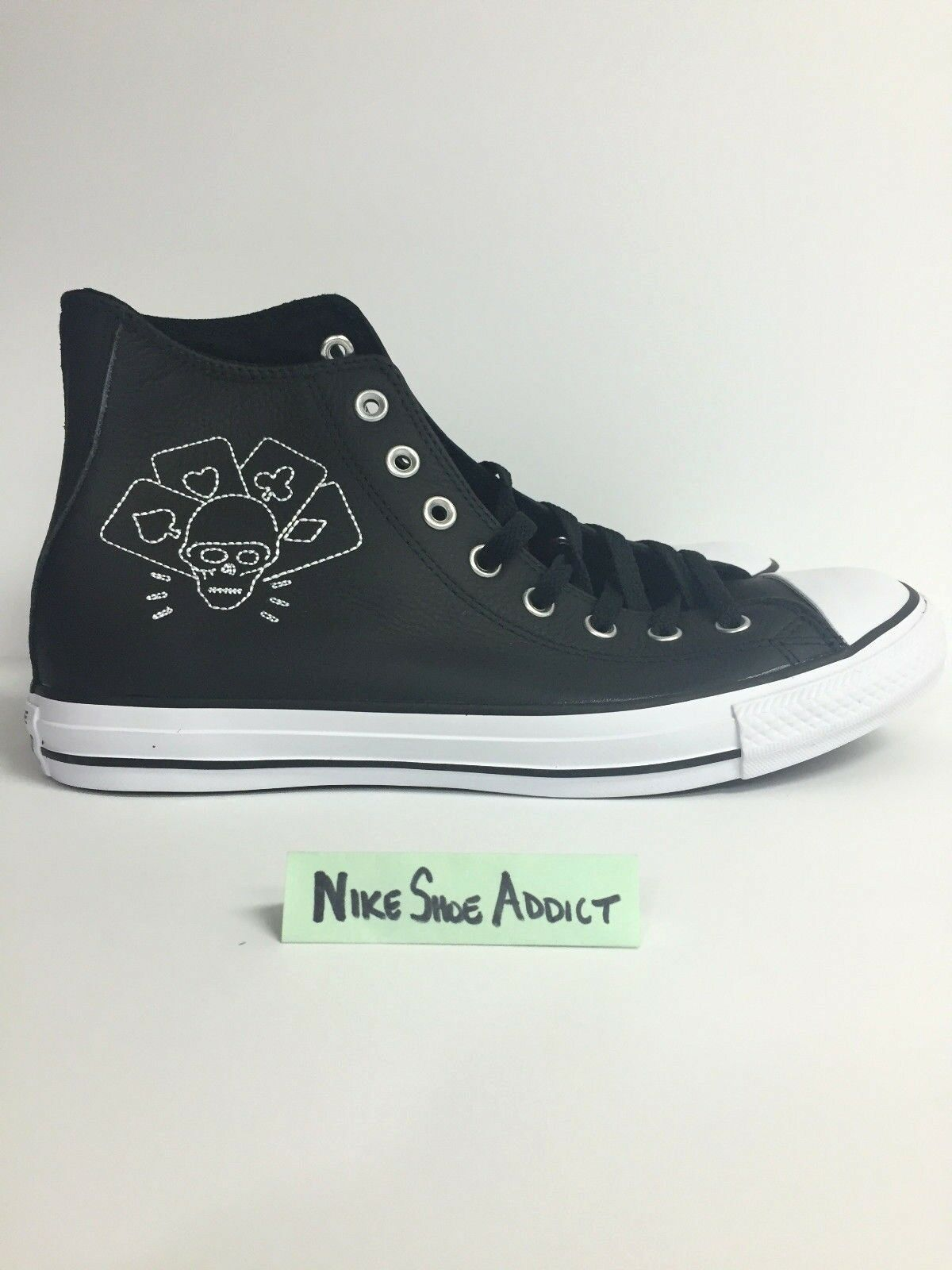 CONVERSE ALL STAR CHUCK TAYLOR CTAS HI BLACK WHITE 155074C UNISEX NEW
