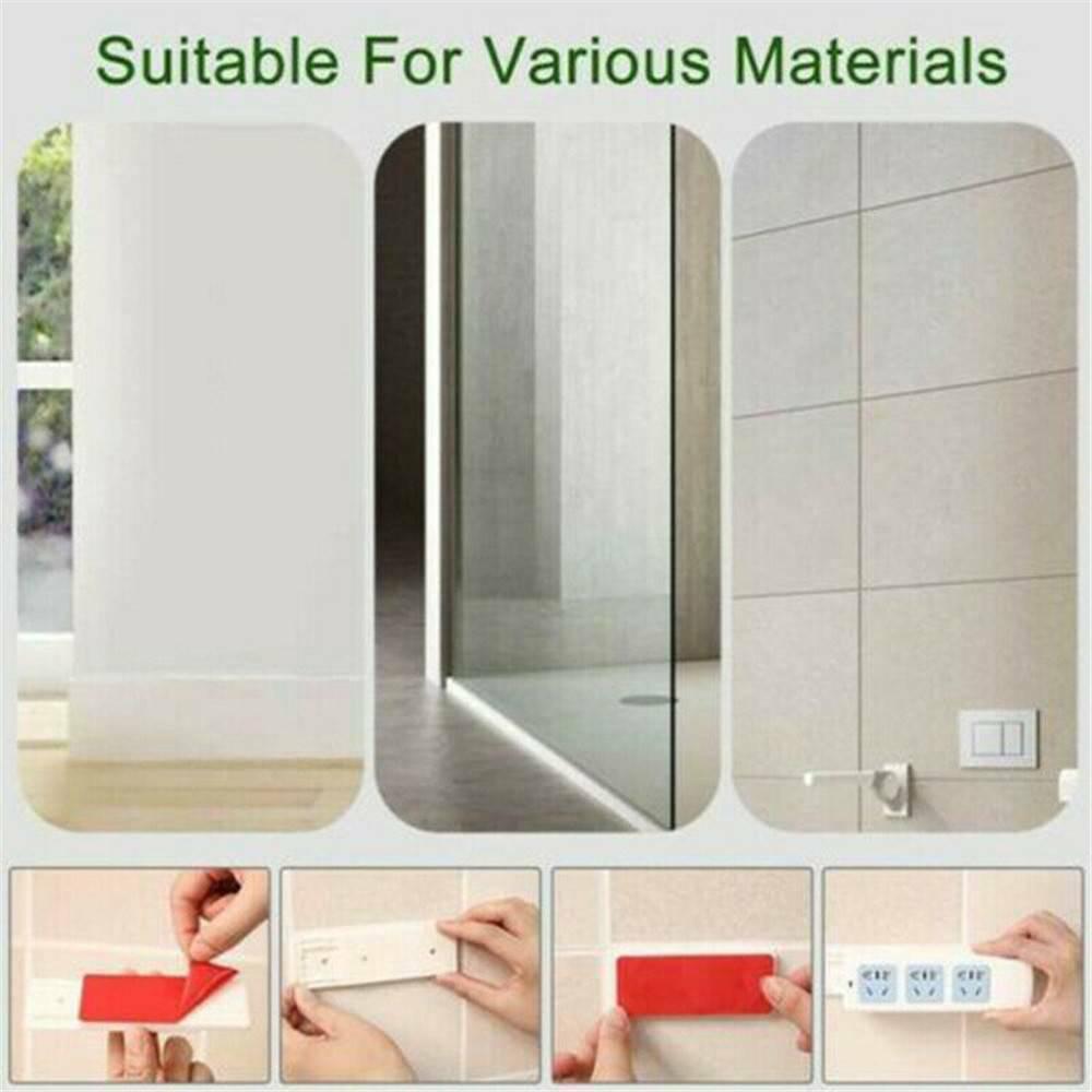 YRQ Seamless Punch Free Plug Sticker Holder Wall Fixer Power Strip Holders Storage Sockets Wall Holders Shelf