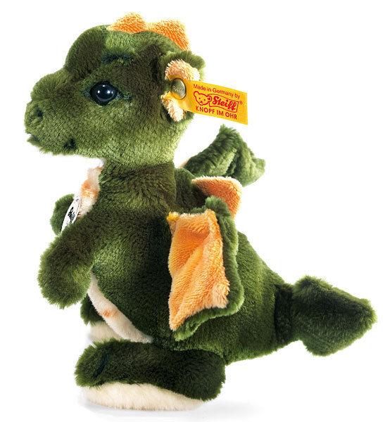 Steiff Raudi DRAGON morbido Coccolone Peluche in confezione regalo - EAN 015076