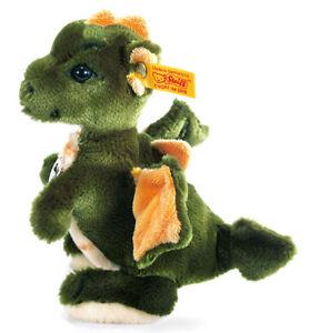 EAN 015076 Bears Steiff Raudi Dragon soft cuddly soft toy in gift box