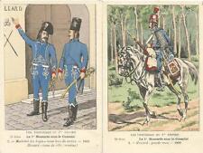Cdt BUCQUOY - UNIFORMES 1er EMPIRE - Série 73 - le 1° HUSSARDS sous le Consulat