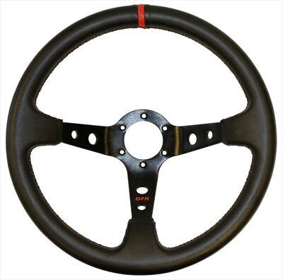 Dragonfire Racing Suede D Steering Wheel RZR Ranger Commander Maverick YXZ1000