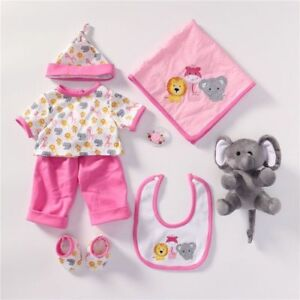 Baby Doll 20 22 Inch Reborn Doll Girl Handmade Doll Clothes Sets With Plush Toy Ebay
