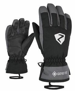 Ziener-Enfants-Alpine-Ski-Gants-ski-Larino-GTX-Glove-Gris-Noir