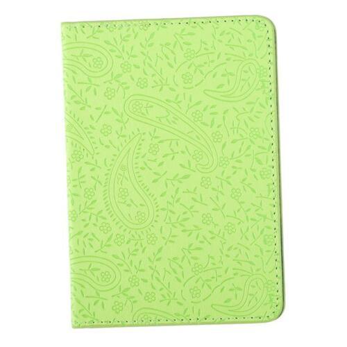 Fashion Passport Holder Travel Document Cover Lavender Pattern 3D C
