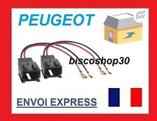 2 Cables adaptateurs haut-parleur - Citroen Berlingo/ C1 / C2/ C3/ Peugeot