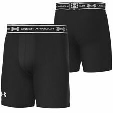 BOYS UNDER ARMOUR COLDGEAR BLACK COMPRESSION SHORTS Age 5-6 FOOTBALL RUGBY