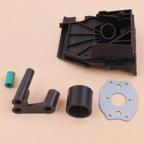Carburetor Adaptor Gasket Intake Kit Fit Poulan 2500 2600 PP255 Gas Chain Saw