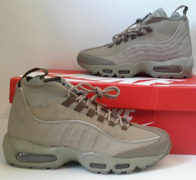 db6403acb73e Mens Nike Air Max 95 Sneakerboots Sneaker Boots New 806809-200 Khaki  200  DS NEW