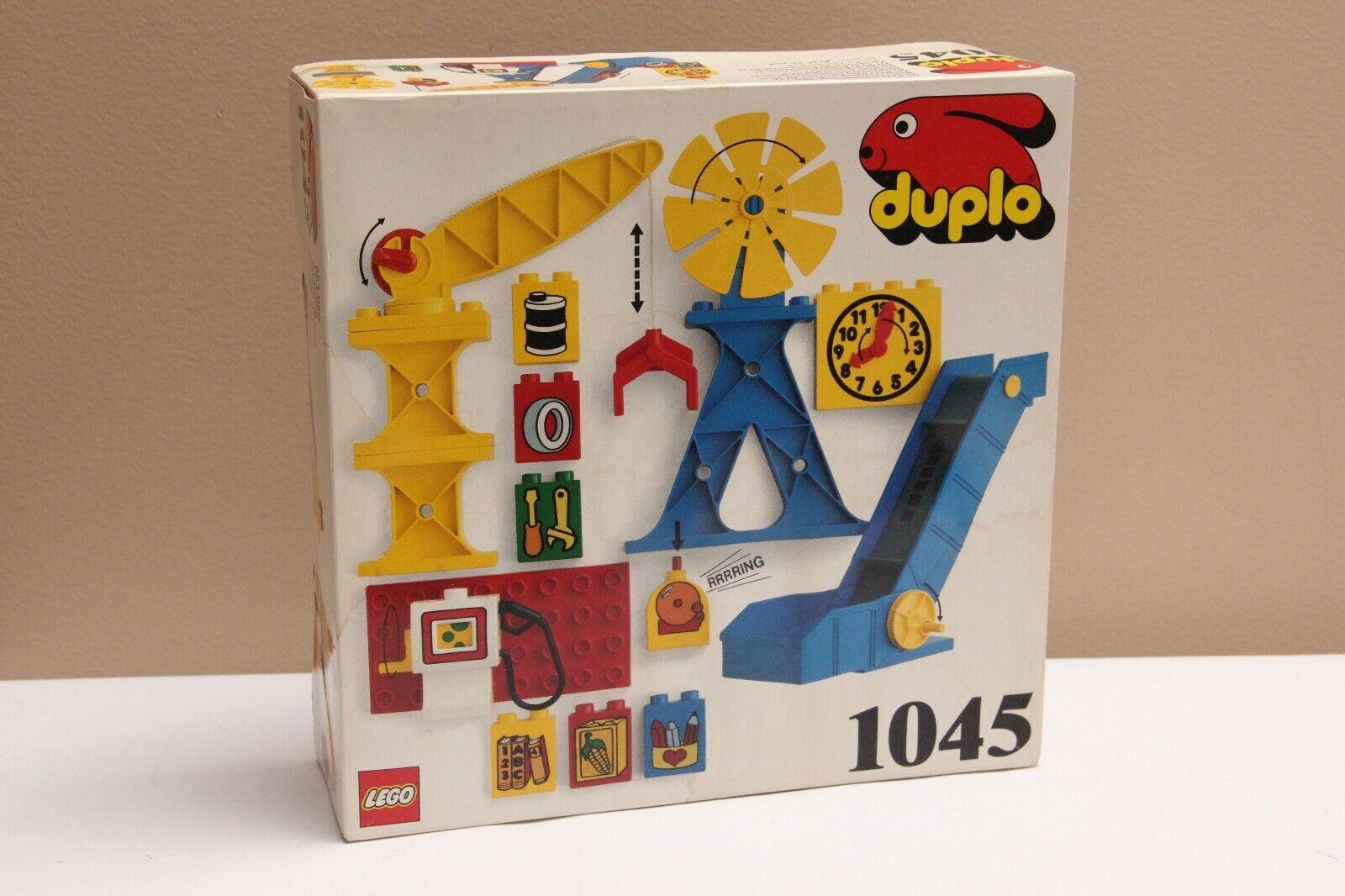 LEGO DUPLO 1045 Industrial Elements Set New and Sealed Some Damage Vtg. NIB