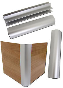 4 x aluminium eckprofile f r wasserbetten podest sockel blenden eck profile alu ebay. Black Bedroom Furniture Sets. Home Design Ideas