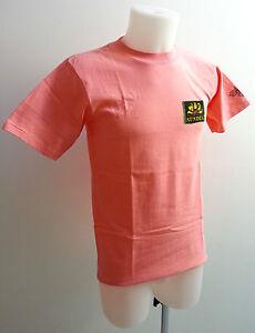 T-Shirt-SUNDEK-maglietta-cotone-Rosa-Tg-M-MADE-IN-USA-Vintage-Anni-80-PANINARO