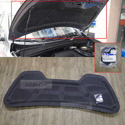Genuine Parts Bonnet Hood Insulator Pad Molding For HYUNDAI 2011-2016 Elantra MD