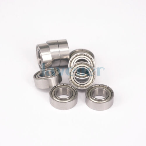 10pcs 687ZZ 7x14x5mm ABEC3 Thin-wall Shielded Deep Groove Ball Bearing