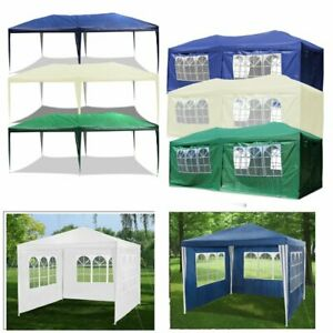 Partyzelt-3x3-6-9m-Pavillon-Bierzelt-Hochzeit-Zelt-Gartenpavillon-Vereinszelt