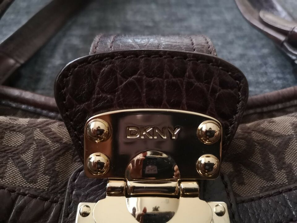 Anden håndtaske, DKNY, stof