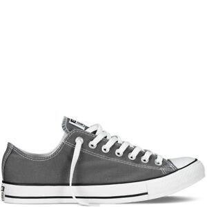 Details zu Converse Chuck Taylor All Star OX low Gr.41 Damen Canvas Sneaker  grau Chucks NEU
