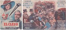 Programme Espagnol EL CLAVO Rafael Gil AMPARO RIVELLES Rafael Duran 1944