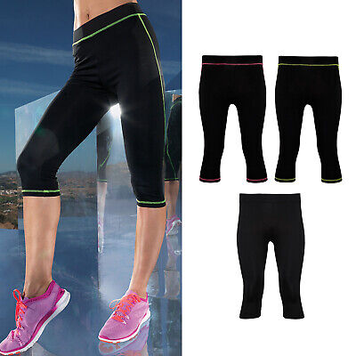 tr030 Gym Fitness Workout Wear Pants Obedient Tridri Women's Capri Fitness Leggings