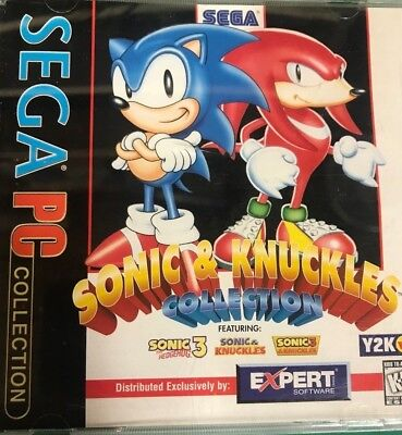 Sonic Knuckles Collection With Jewel Case And Game Sega 11486 Ebay