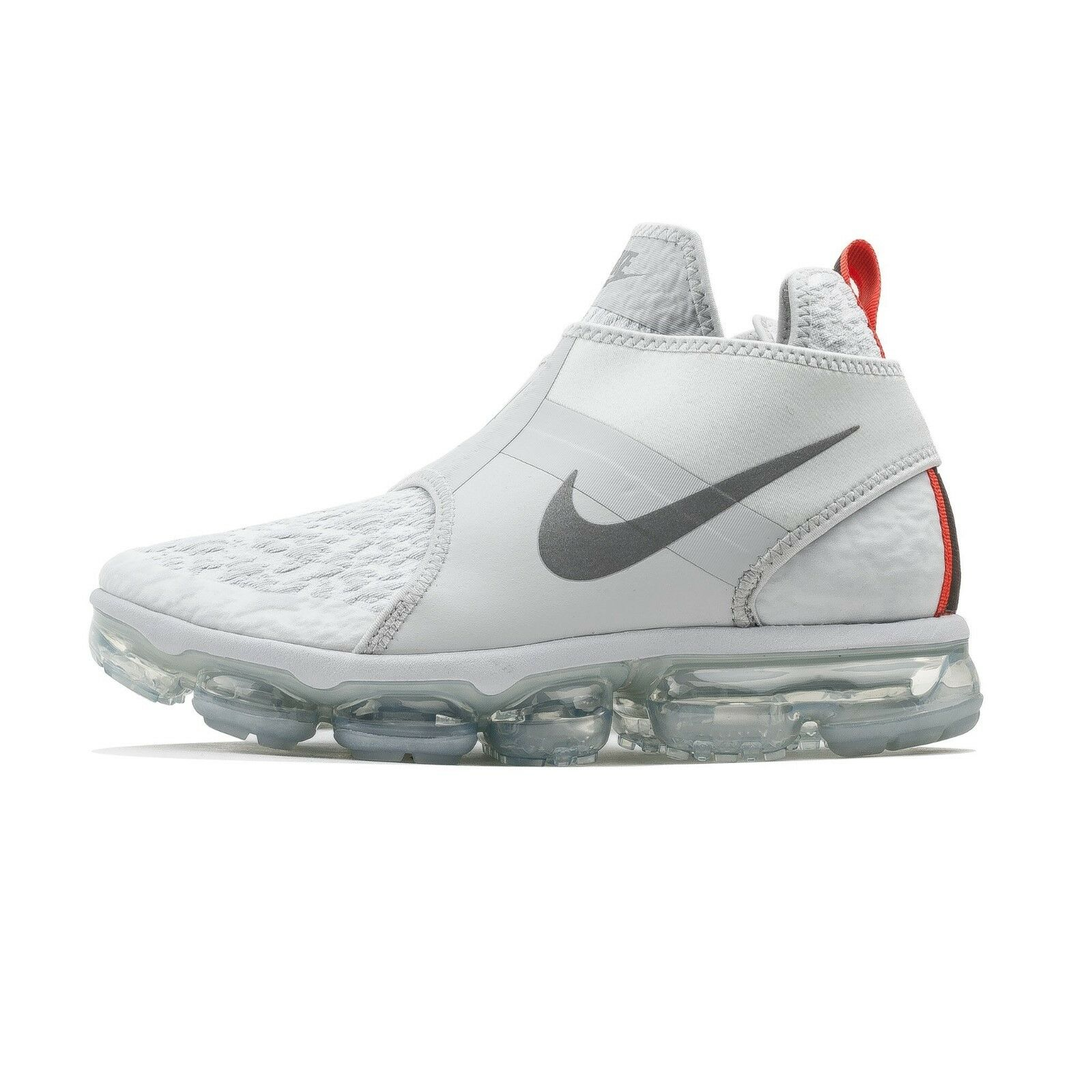Nike Air VaporMax Chukka Slip White AO9326-001 NEW Athletic shoes Running