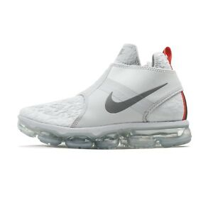 409c3c70a44 Nike Air VaporMax Chukka Slip White AO9326-001 NEW Athletic Shoes ...