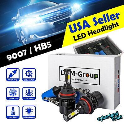 2 x H11 COB LED Headlight 6000K 160000LM Bulbs for Low Beam @
