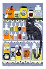 Geschirrtuch Cat Hubble Bubble Katze Halloween, Ulster Weavers, Küchenhandtuch