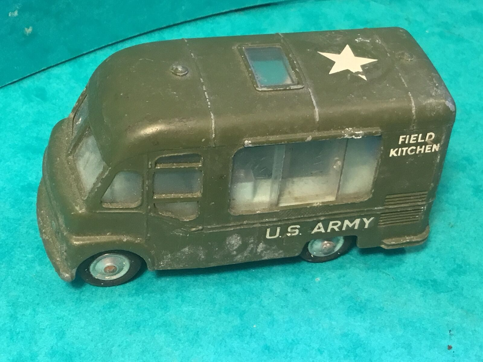 Corgi toys smith,s karrier van u.s army field kitchen 21101 59 no box collectors