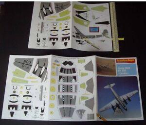 Lufthansa-Focke-Wulf-Fw-200-034-Condor-034-1980s-90s-JF-Schreiber-Germany-Card-Kit