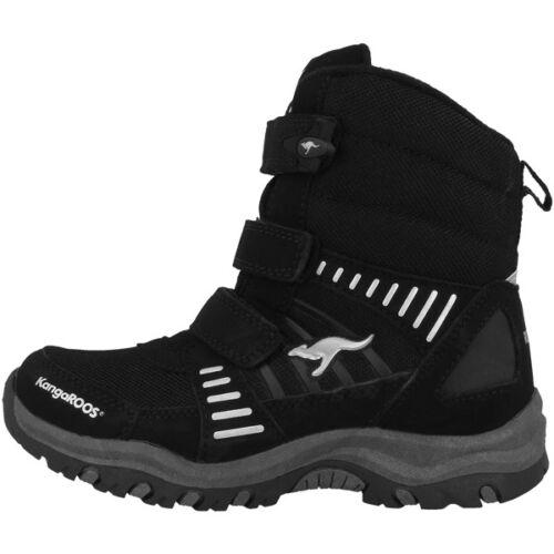 KANGAROOS Barry-High II Boots Chaussures Enfants BLACK 1660a-590 Bottes Lenoxx