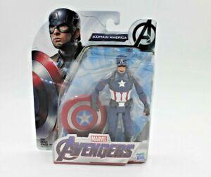 MARVEL-Avengers-Issue-6-034-pouces-Captain-America-Costume-Action-Figure
