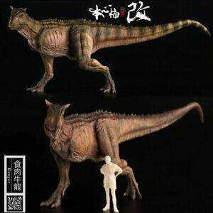 Nanmu-1-35-Carnotaurus-Figur-Noce-Dinosaurier-Modell-Dinos-Sammler-Kinder-Spielzeug-Geschenk