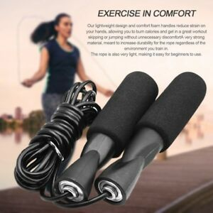 New-Aerobic-Exercise-Boxing-Skipping-Jump-Rope-Adjustable-Bearing-Speed-Fitness