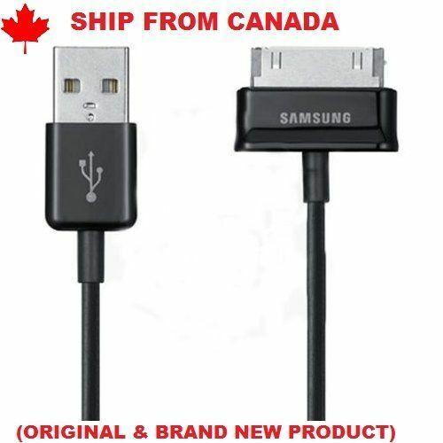USB DATA CABLE FOR SAMSUNG GALAXY TAB 1 BLACK ECC1DP0UBE