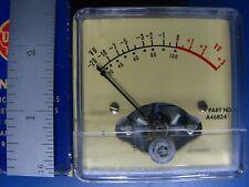 Audio Analog Vu Meter New Milt Spec Lot Of 2