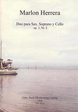 00315 Noten Duo Sopran-Sax und Cello Lateinamerika Marlon Herrera