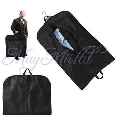 Coat Clothes Garment Suit Cover Zipper Bags Dustproof Hanger Storage