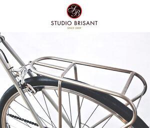 Porte bagage avant vélo acier porteur route cyclotoursiste Hollandais NEUF ville