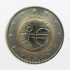 2 Euro Malta 2009 10 Jahre Euro 2009 EWU EMU