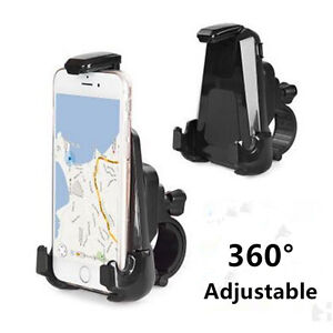 PerséVéRant Adjustable Motorcycle Bicycle Support Cell Phone Holder Stand Mount For Phone