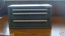 Huot Metric Sizes 3mm To 24mm Tap Dispenser Index Organizer Cabinet 13575