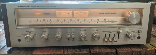 Pioneer SX-750 Vintage AM/FM Stereo Receiver tested fully functional